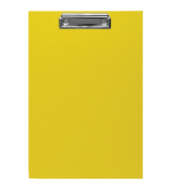 Clipboard A4 CP Yellow 5pcs